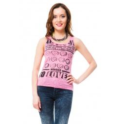 фото Майка Mondigo 8546. Цвет: темно-розовый. Размер одежды: 42