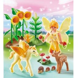 фото Конструктор игровой Playmobil «Принцесса: Сказочная Принцесса Осени с летающей лошадкой»