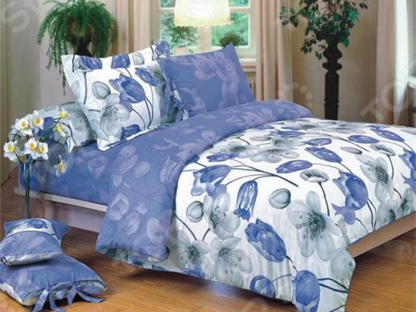 Комплект постельного белья La Noche Del Amor А-669. 2-спальный2-спальные<br>Спокойный и здоровый сон для человека также жизненно необходим, как и свежий воздух, ведь именно выспавшись, вы полны новых идей и сил для их реализации. Но возможен ли приятный сон на твердой кровати или некачественном постельном белье Конечно же, нет. Именно поэтому мы с гордостью представляем загадочный, фантастически красивый и роскошный комплект постельного белья от производителя La Noche Del Amor. Роскошное белье для сладкого сна La Noche Del Amor А-669 это постельное белье нового поколения , предназначенное для молодых и современных людей, желающих создать модный интерьер спальни и сделать быт более комфортным. Комплект изготовлен из сатина. Эту благородную ткань делают только из отборной натуральной пряжи, которую получают из самого лучшего тонковолокнистого хлопка. Благодаря использованию самых тонких волокон, получается необычайно мягкое и нежное полотно, изготовленное по технологии особого скручивания нитей и переплетения, за счет чего ткань блестит, подобно шелковой. Помимо своих внешних качеств, сатин отличается хорошей способностью пропускать воздух и прекрасно впитывать влагу. Белье не теряет цвет и не садится во время стирки, а на ткани не образуются катышки . Насыщенный цвет и высокое качество продукции гарантируют, что атмосфера вашей спальни наполнится теплотой и уютом, а вы испытаете множество сладких мгновений спокойного сна.  Почему стоит выбрать постельное белье от бренда La Noche Del Amor  Изготовлено из экологически чистого, гипоаллергенного материала.  Отличается высокой гигроскопичностью и хорошо пропускает воздух.  Не мнется и не деформируется при использовании.  Не электризуется.  Легко в уходе, не выцветает даже после множества стирок.  Внутри комплекта вас ждет небольшой сюрприз магнит, который принесет любовь в ваш дом и будет беречь ее долгие годы! В качестве сырья для изготовления данного комплекта постельного белья использованы нити хлопка. Натуральное хлоп