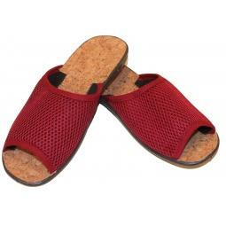 Туфли женские АЛМИ «Летний сад». Цвет: бордовый