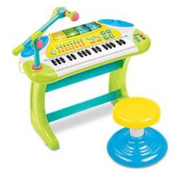 фото Музыкальный инструмент игрушечный Weina «Синтезатор»