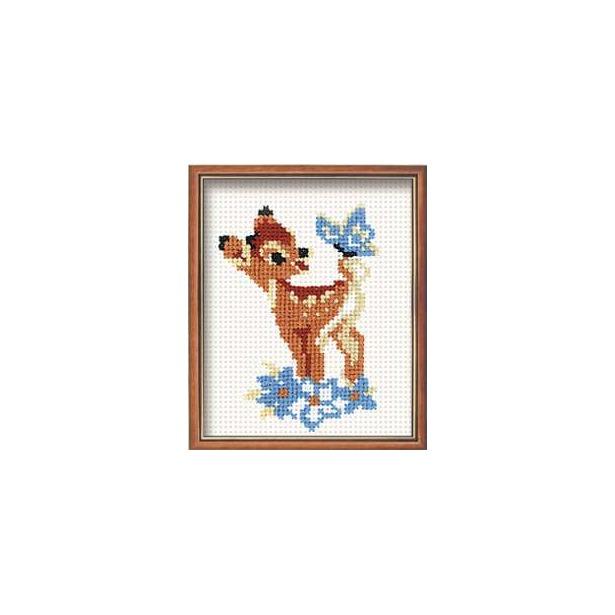 фото Набор для вышивания крестиком Сотвори Сама «Бэмби»