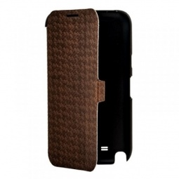 фото Чехол для Samsung Galaxy Note 2 N7100 Yoobao Fashion Case. Цвет: коричневый