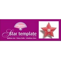 Купить Шаблон для изготовления Pergamano Коробочка-звезда