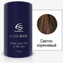 фото Реконструктор волос EcoSapiens I LOVE HAIR. Цвет: светло-коричневый