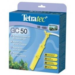 фото Сифон для чистки грунта в аквариуме Tetra с защитной сеткой. Объем: 50-400 л