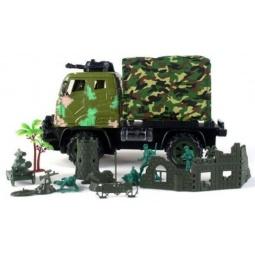 фото Машина на радиоуправлении Shantou Gepai «Грузовик военный» 627252