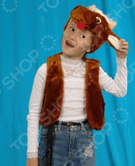 Костюм новогодний детский Костюмы «Бычок» 036 карнавальные костюмы magic home новогодний костюм