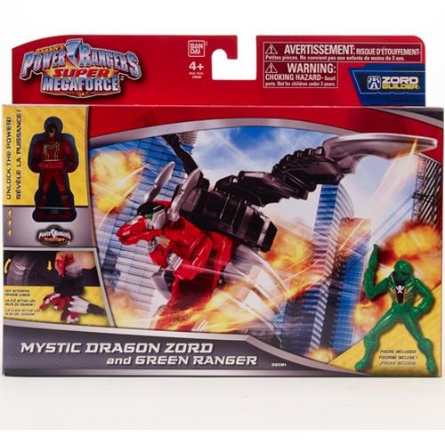 Набор игровой c фигуркой Power Rangers «Зорд и рейнджер» bandai bandai power rangers игровой набор могучие рейнджеры рейнджер с оружием
