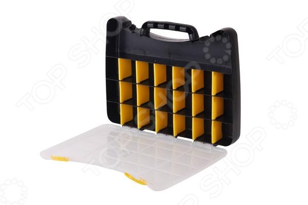 Ящик-органайзер для крепежа Archimedes 94224 органайзер для крепежа разборный