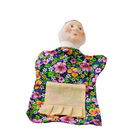 Купить Кукла на руку Русский стиль «Бабка» 11010