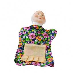 фото Кукла на руку Русский стиль «Бабка» 11010