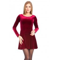 фото Платье Mondigo 7026. Цвет: гранатовый