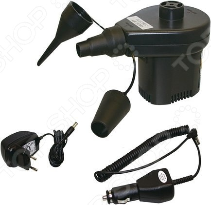 Насос для надувных матрасов High Peak Akku ElektropumpeНасосы<br>Насос для надувных матрасов High Peak Akku Elektropumpe мощный насос для накачки или сдувания матрасов, и кроватей. Оборудован аккумуляторами, которые делают эту модель очень удобной при выезде на природу. Насос может работать от сети с напряжением 220 В или автомобильного адаптера 12 В . В комплект входят три адаптера на разные диаметры клапанов.<br>