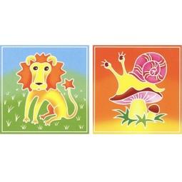 Купить Набор для росписи ткани RTO BK-011/012