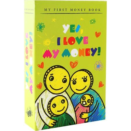 Купить Книга-сейф FiftyTwoWays I love money