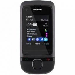 фото Мобильный телефон Nokia C2-05. Цвет: темно-серый