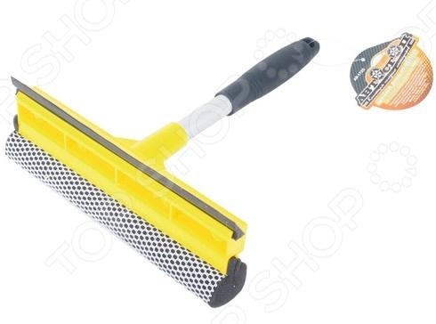 Щетка для мойки с губкой и сгоном для воды Автостоп AB-1725 щетка для мытья автомобиля с подачей воды stels 55222