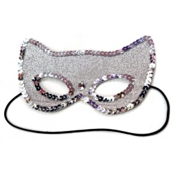 фото Маска карнавальная для девочки Новогодняя сказка «Кошечка» 971133
