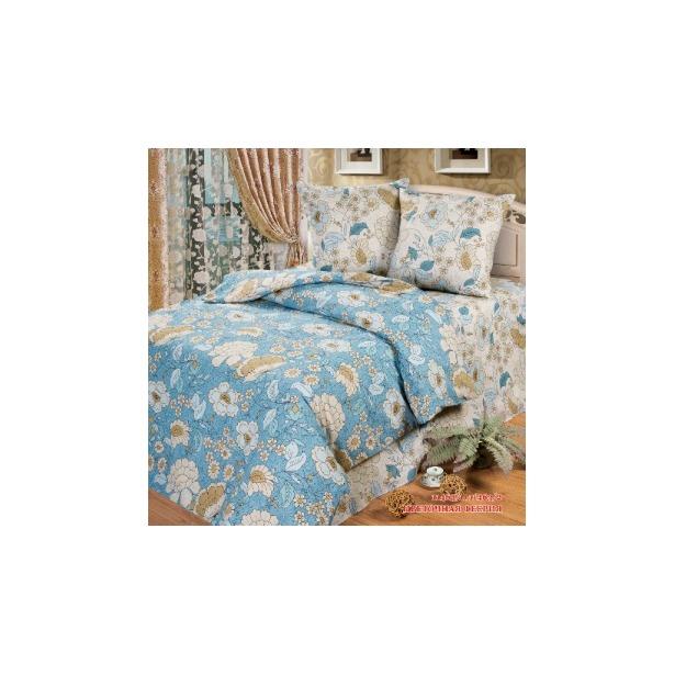 фото Комплект постельного белья Любимый дом Цветочная феерия. Евро