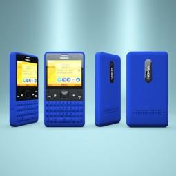 фото Мобильный телефон Nokia Asha 210 Dual sim. Цвет: голубой