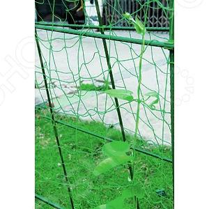 Сеть для вьющихся растений Green Apple GGN-1 комплект для вьющихся растений green apple glscl 2 сборный с сеткой 0 9 х 1 8 м