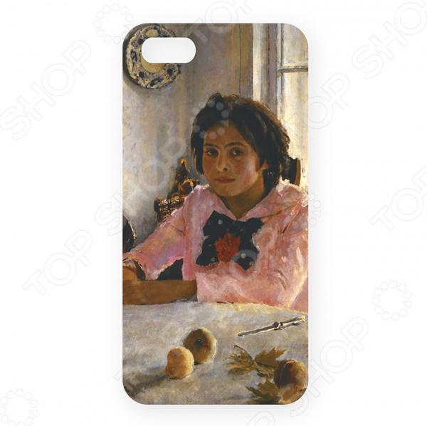 Чехол для iPhone 5 Mitya Veselkov «Девочка с персиками В. Серов»