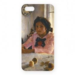 фото Чехол для iPhone 5 Mitya Veselkov «Девочка с персиками В. Серов»