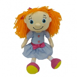 фото Мягкая кукла интерактивная Maxi Play «Подружка-рыжая»