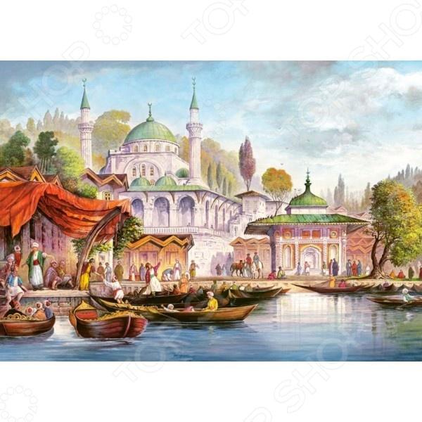 Пазл 3000 элементов Castorland «Стамбул»Пазлы (1001–3000 элементов)<br>Пазл 3000 элементов Castorland Стамбул это отличное и веселое времяпрепровождение для всей семьи. Внутри упаковки находится набор из 3000 элементов. Части изображения соединяются между собой с помощью пазлового замка. Собрав все детали воедино, у вас получится великолепная картина, которую, сперва надежно закрепив, можно повесить на стену, как предмет декора. Пазл 3000 элементов Castorland Стамбул изготовлен из абсолютно безопасного материала, поэтому замечательно подойдет для детей. Головоломка развивает усидчивость, наблюдательность, образное восприятие и логическое мышление. Постоянно манипулируя деталями, ребенок улучшает мелкую моторику рук и координацию движений. Размер готового пазла составляет 92х68 см.<br>