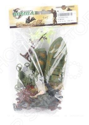 Набор игровой для мальчика Shantou Gepai «Военный» 505Игровые наборы для мальчиков<br>Набор игровой для мальчика Shantou Gepai Военный 505 станет хорошим подарком для малыша и сможет надолго его заинтересовать богатым набором возможностей. В комплект вошли следующие элементы: боевая техника, фигурки солдатиков и различные аксессуары для них. Набор великолепно подходит для сюжетно-ролевых игр и позволяет развить фантазию и мелкую моторику ручек ребенка. Все изделия выполнены из нетоксичного пластика, поэтому полностью безопасны для малыша.<br>