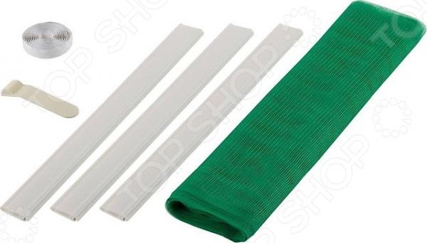 Сетка противомоскитная для двери Stayer Comfort - наиболее эффективное средство для защиты от насекомых и пыли. Сетка препятствует попаданию летающих насекомых, пауков внутрь помещения. Мелкий сетчатый материал, также станет надежной преградой для тополиного пуха, пыли и листвы. Преимущества противомоскитной сетки для двери Stayer Comfort:  простота в использовании;  её легко установить и демонтировать;  не требует дополнительных инструментов и приспособлений для установки;  не требует особого ухода и легко стирается при загрязнении;  легко сворачивается и не требует много места для хранения.