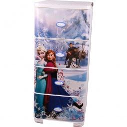 фото Комод 4-х секционный плетеный Альтернатива Disney «Холодное сердце»
