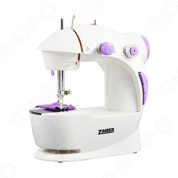Швейная машинка 2скорости и 2 винта Zimber ZM-10920 швейная машинка 2скорости и 2 винта zimber zm 10920