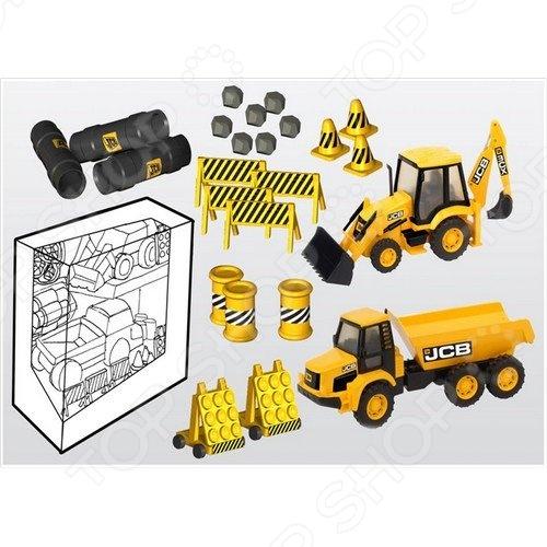 Набор игровой для мальчика HTI с машинками «Стройка»