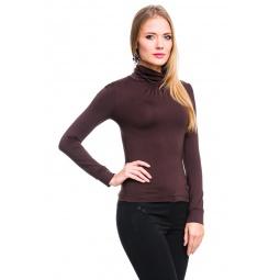 фото Водолазка Mondigo 146. Цвет: коричневый. Размер одежды: 42