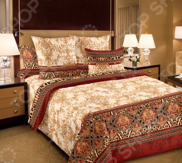 цена Комплект постельного белья Белиссимо «Императрица 3» онлайн в 2017 году