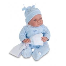 фото Кукла интерактивная Munecas Antonio Juan «Ника». Цвет: голубой