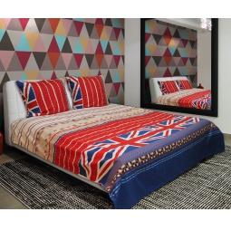 фото Комплект постельного белья Amore Mio Britain. Mako-Satin. 1,5-спальный
