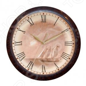 Часы настенные Вега П 1-962/7-8 часы вега п 1 247 7 247 желтые тюльпаны