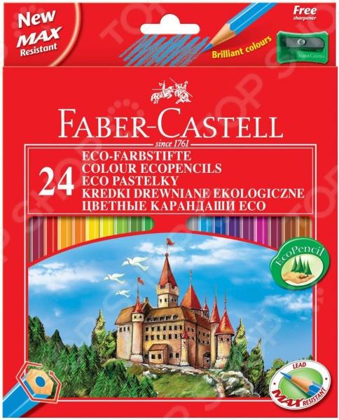 Набор карандашей цветных Faber-Castell Eco Castell 120124