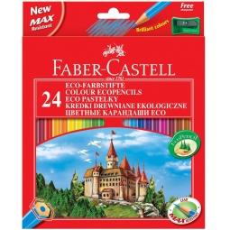Купить Набор карандашей цветных Faber-Castell Eco Castell 120124
