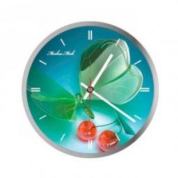 фото Часы настенные Вега С 1-3 «Бабочки и Вишенки»