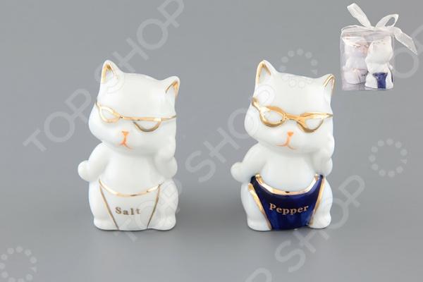 Набор для специй Elan Gallery «Котята-умники»
