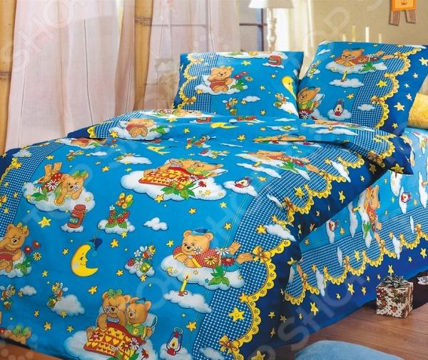 Детский комплект постельного белья Бамбино «Сладкий сон»