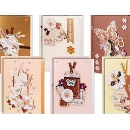 Купить Набор для создания 12-ти открыток Белоснежка «В розовых тонах»