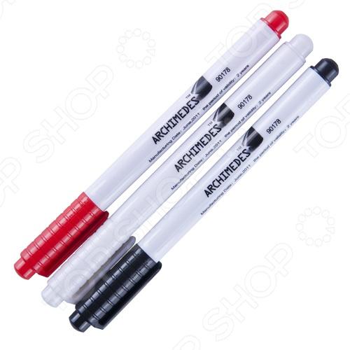 Набор маркеров Archimedes Norma 90178 набор лезвий для скребка archimedes norma