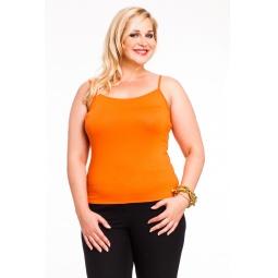 фото Майка Mondigo XL 551. Цвет: оранжевый. Размер одежды: 48