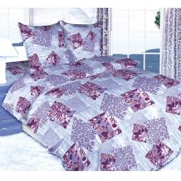 фото Комплект постельного белья Королевское Искушение «Кения». 2-спальный. Цвет: синий