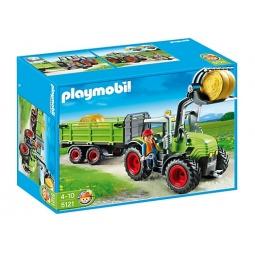 фото Конструктор игровой Playmobil «Ферма: Трактор с прицепом»